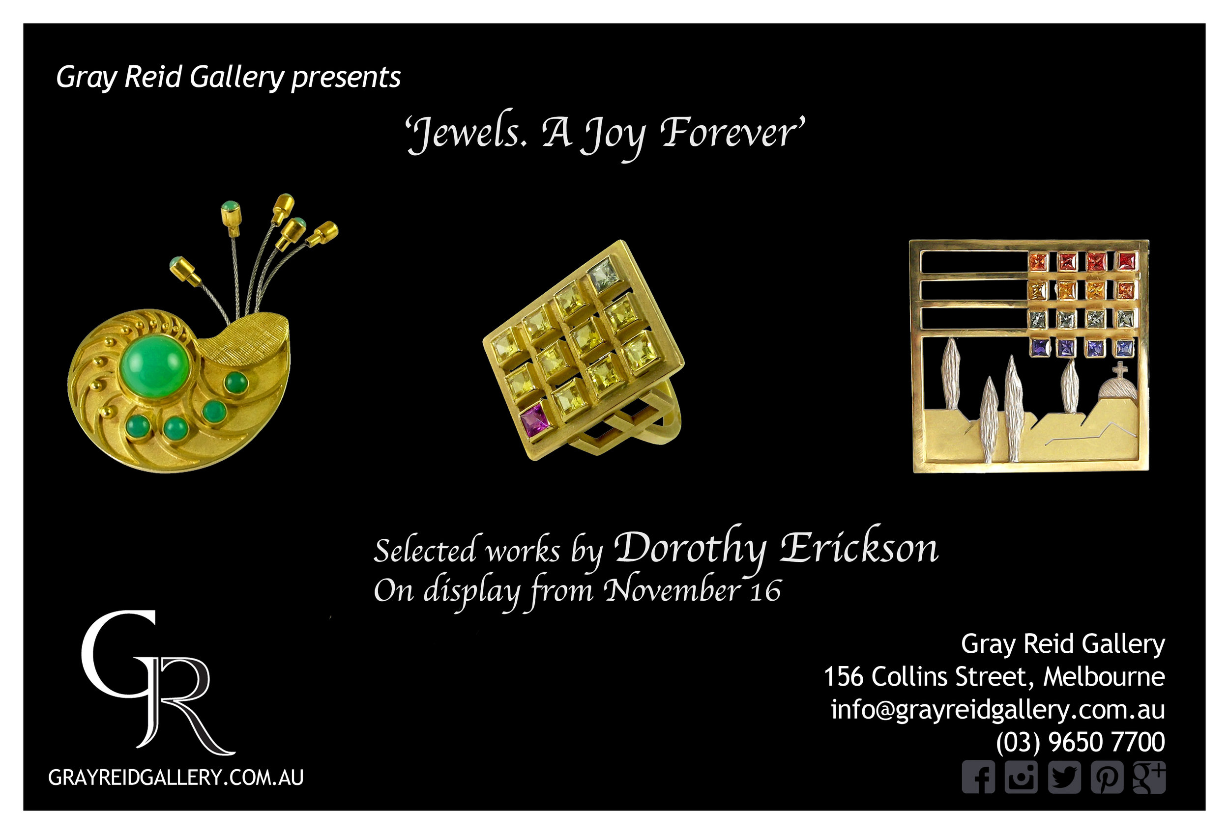 Jewels, A Joy Forever invitation