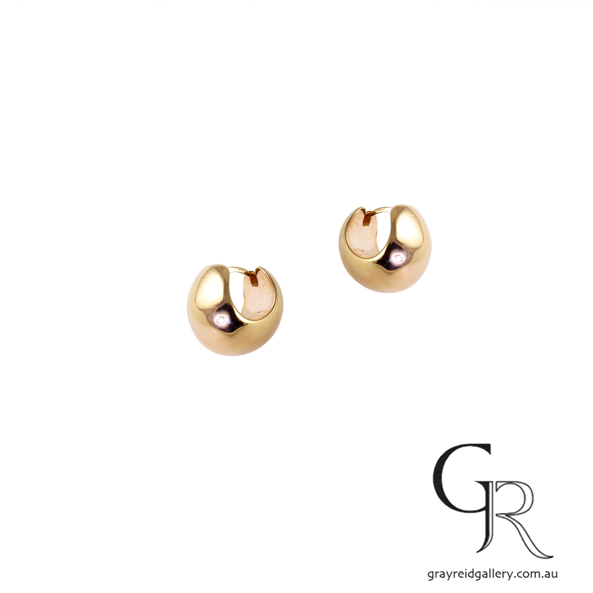 Rose Gold 'Huggie' Earrings