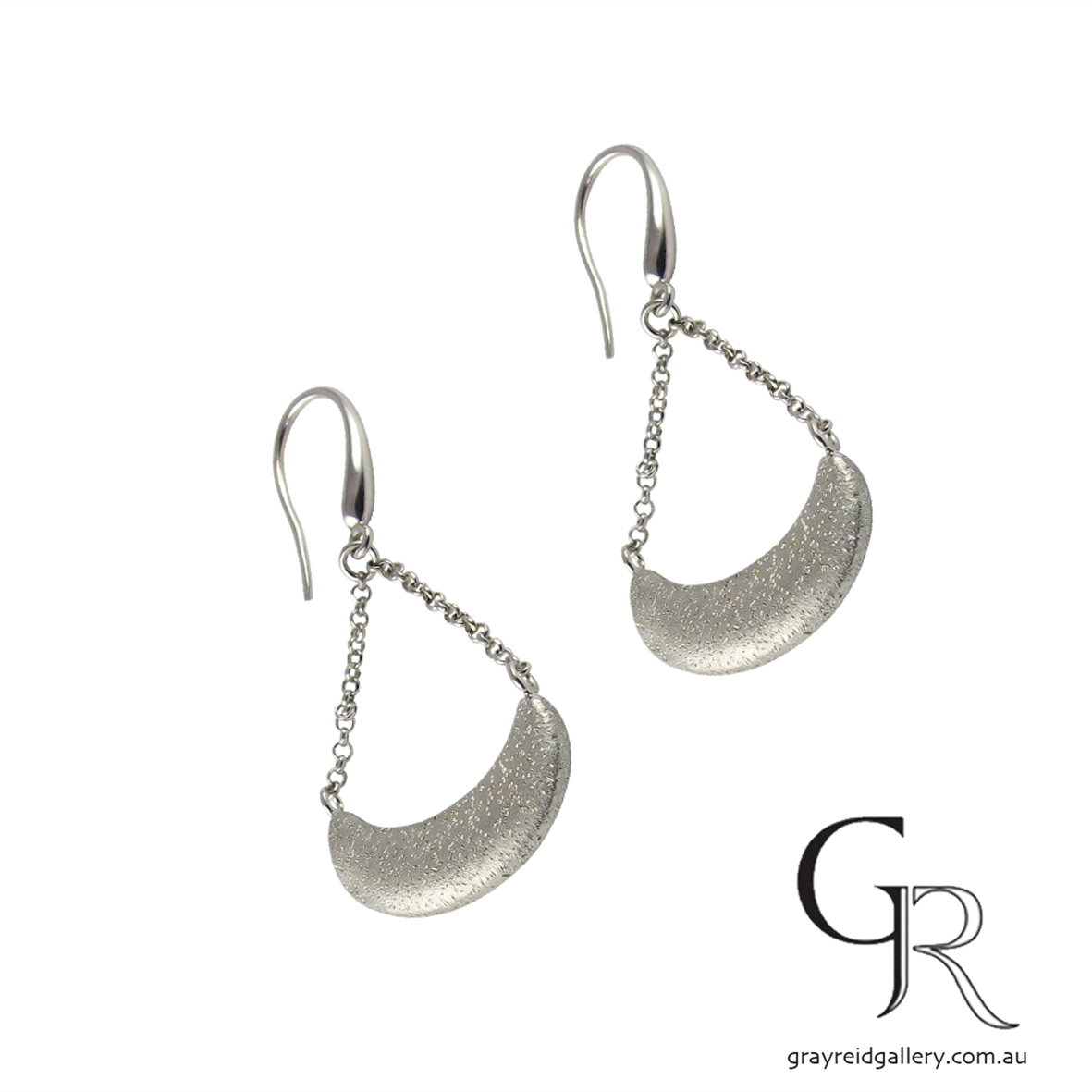 Sterling Silver 'Galaxy' Drop Earrings