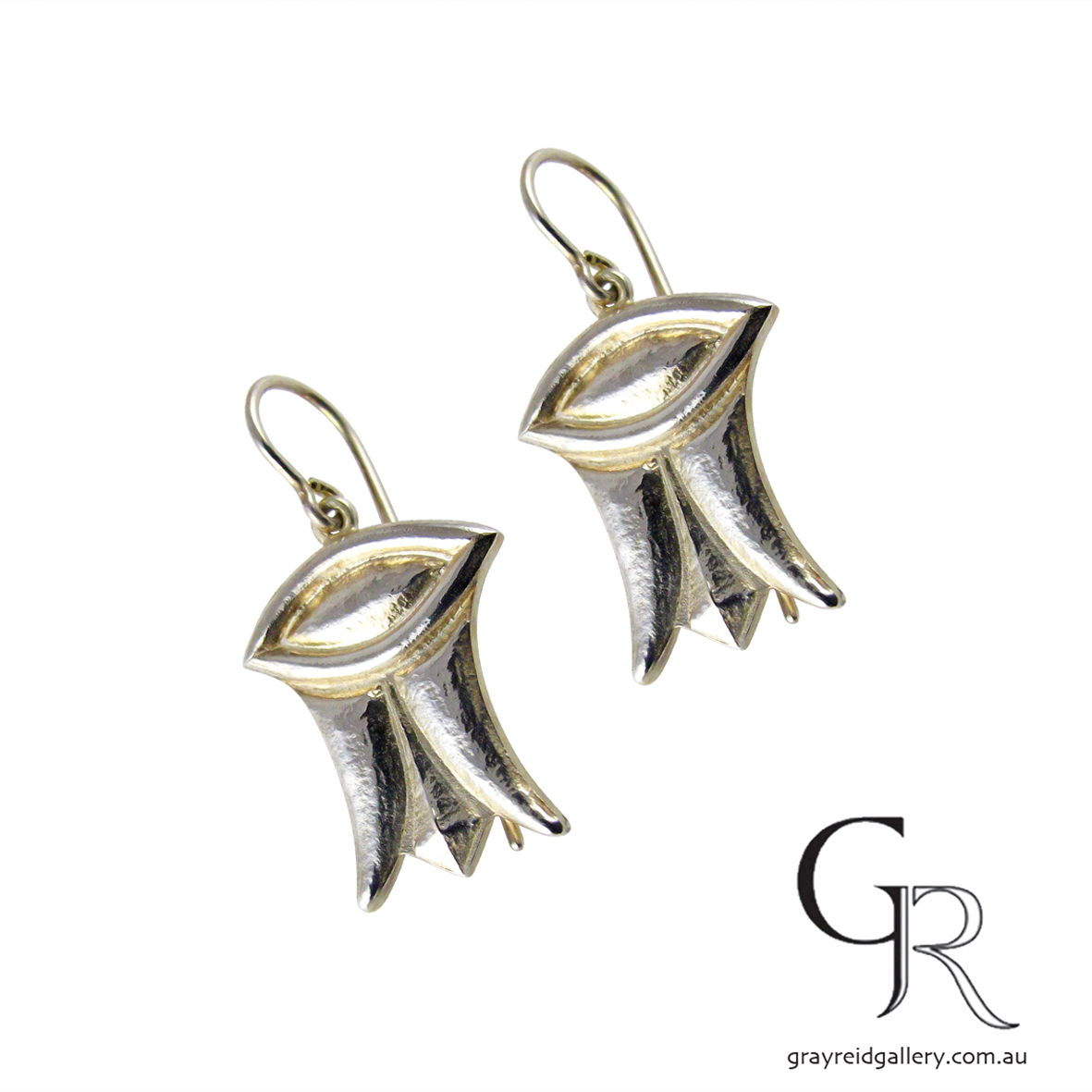 Silver Earrings By Chris Sherwin