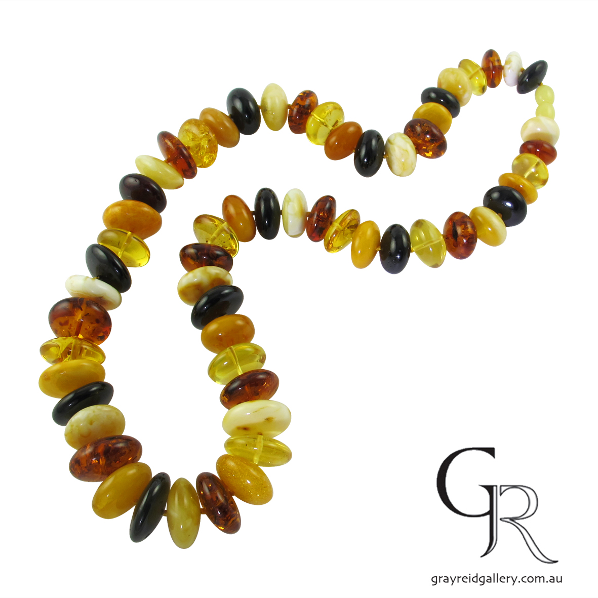 Natural, Baltic Amber Beads.