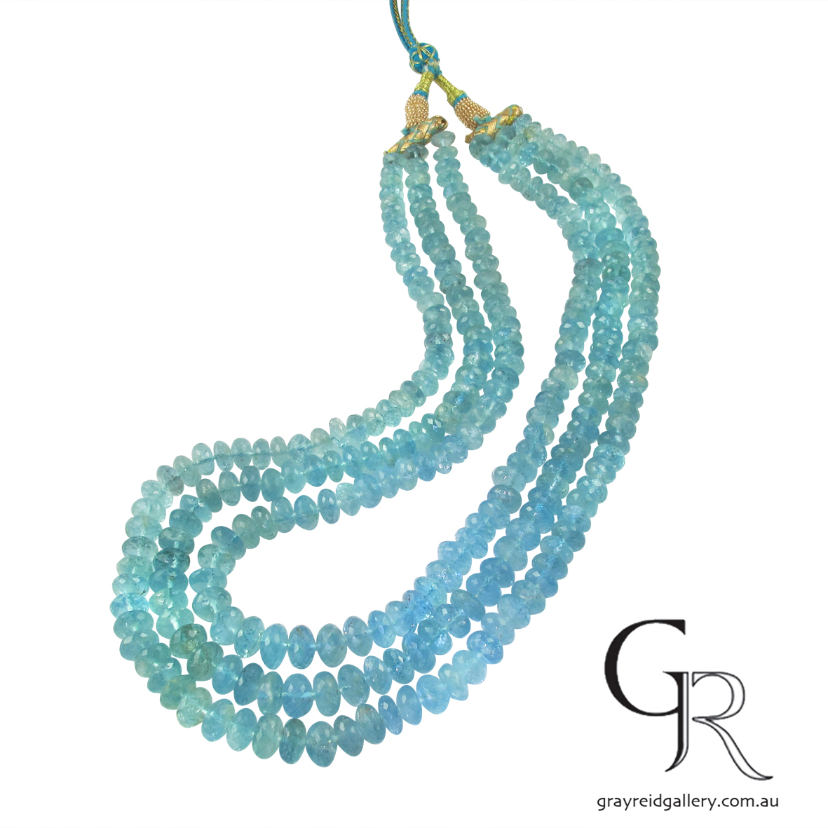 Natural Faceted Aquamarine Beads