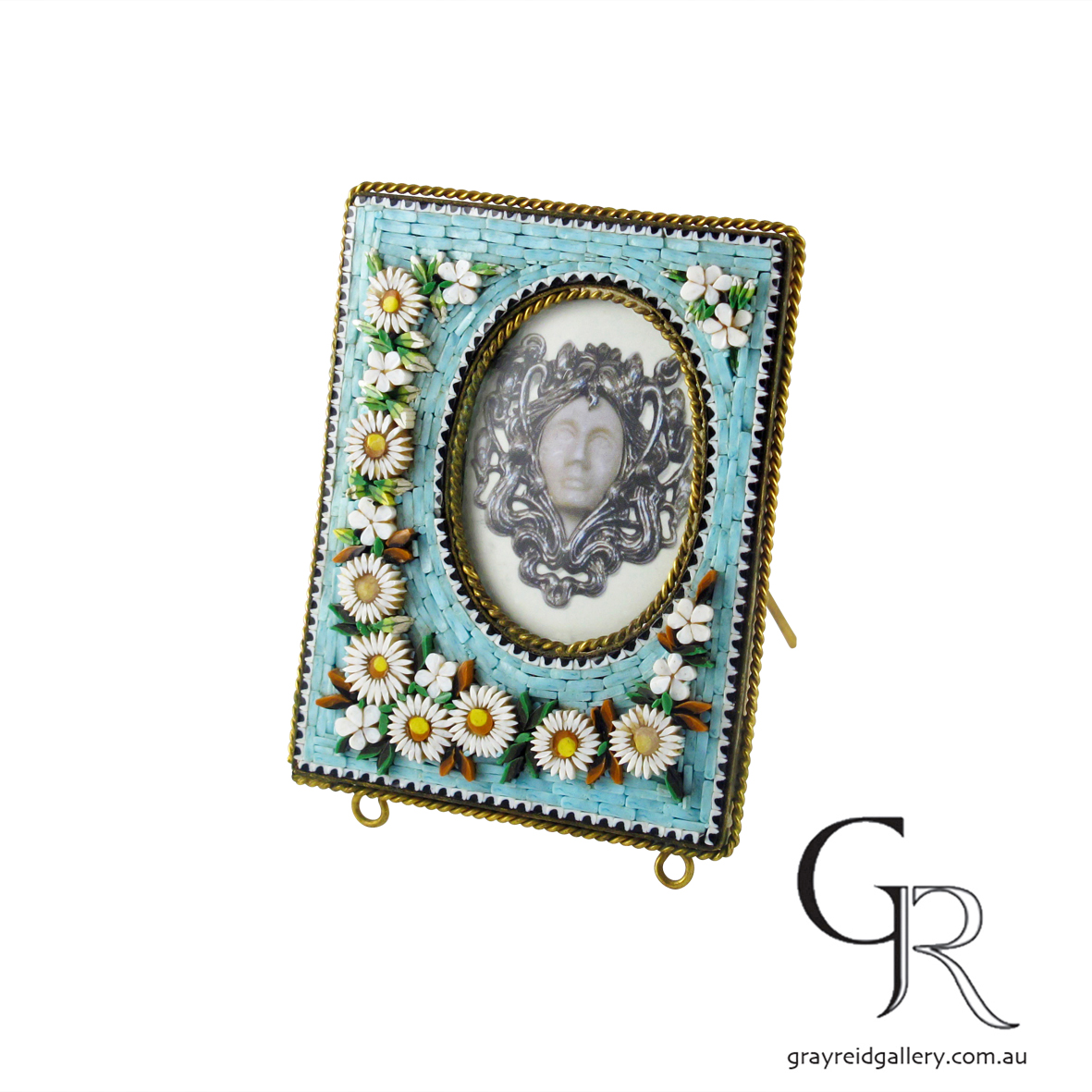 antiques and collectables melbourne micro mosaic picture frame Gray Reid Gallery 6.jpg