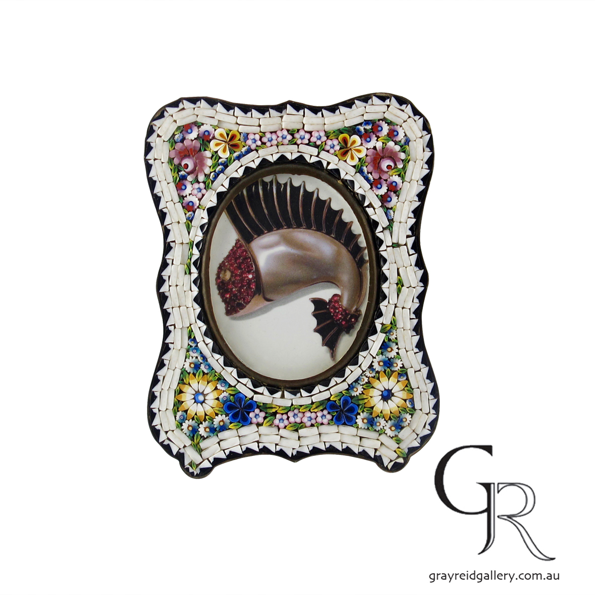 antiques and collectables melbourne micro mosaic picture frame Gray Reid Gallery 9.jpg