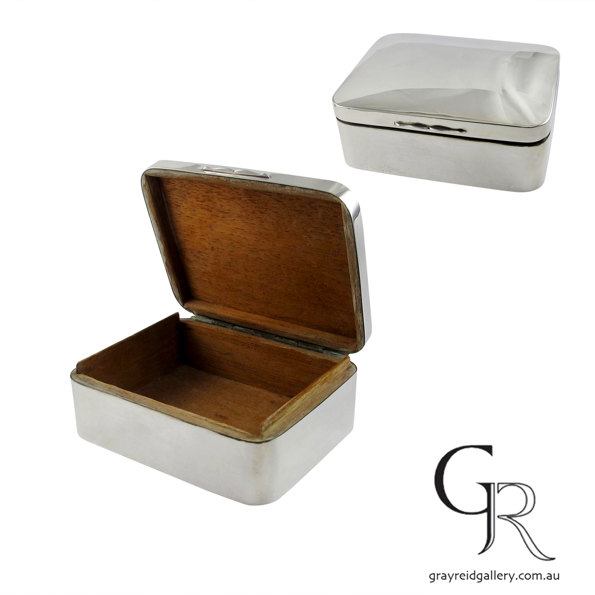 antiques and collectables melbourne Sterling silver box Gray Reid Gallery 71.jpg