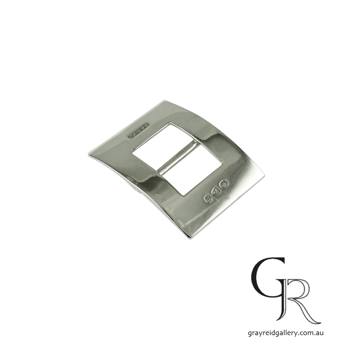 antiques and collectables melbourne sterling silver belt buckle Gray Reid Gallery 7.jpg