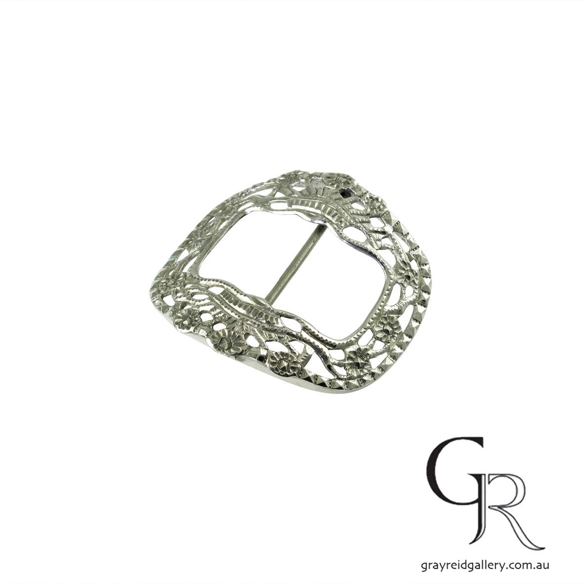antiques and collectables melbourne sterling silver belt buckle Gray Reid Gallery 13.jpg