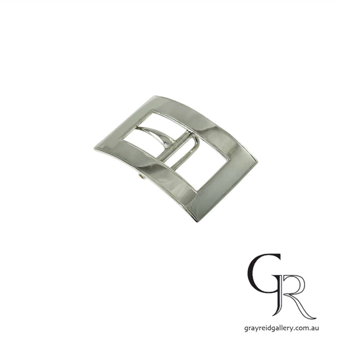 antiques and collectables melbourne sterling silver belt buckle Gray Reid Gallery 8.jpg