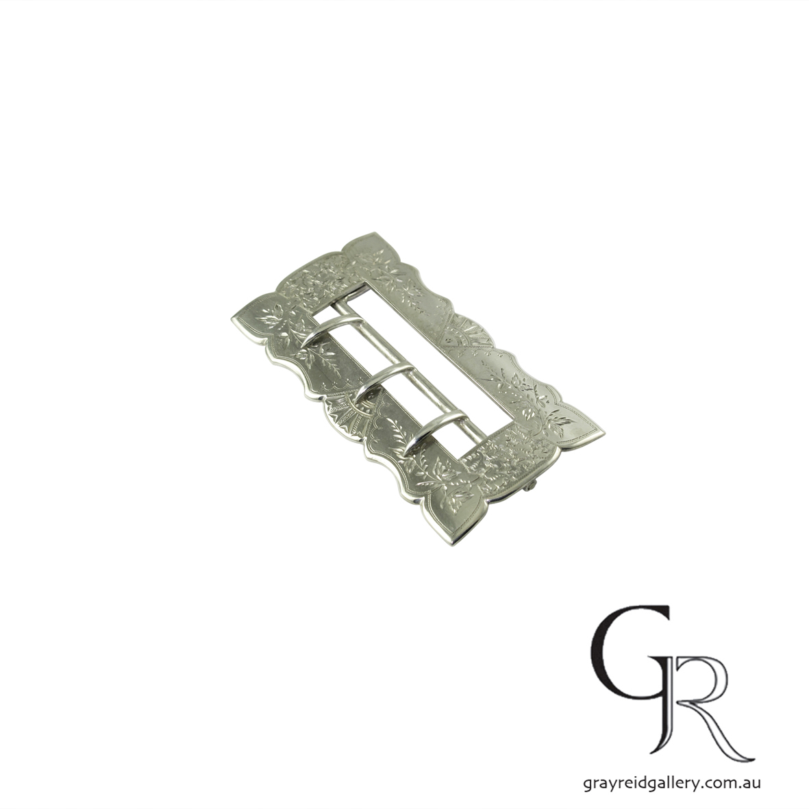 antiques and collectables melbourne sterling silver belt buckle Gray Reid Gallery 9.jpg