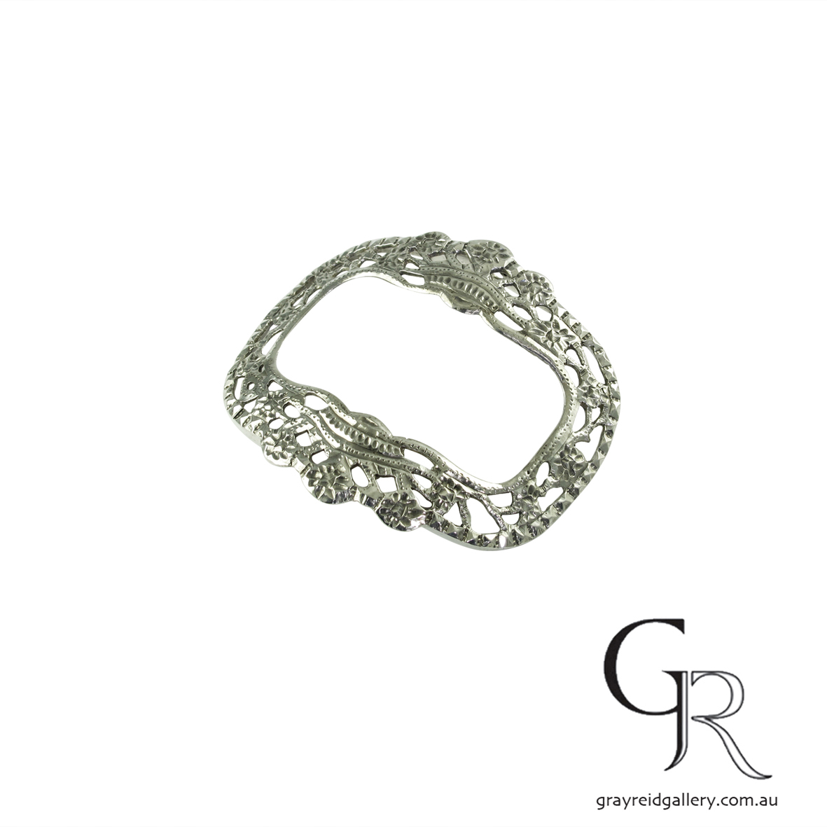 antiques and collectables melbourne sterling silver belt buckle Gray Reid Gallery 14.jpg