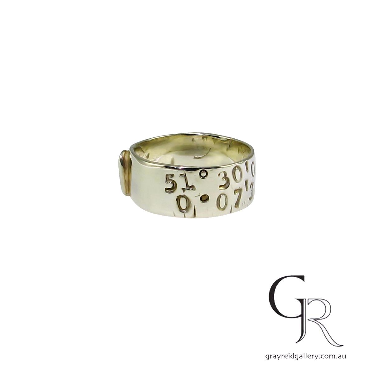 ali Alexander Wedding bands Melbourne mens jewellery Gray Reid Gallery yellow gold gents ring 10.35.29.jpg