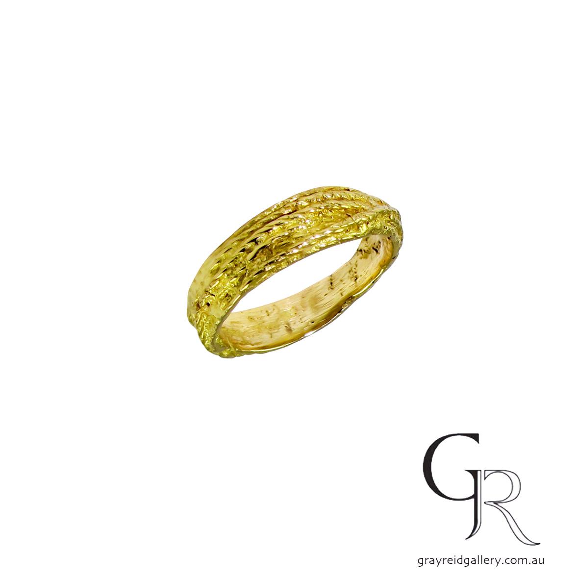 ali Alexander melbourne yellow gold wedding bands melbourne Gray Reid Gallery 5.jpg