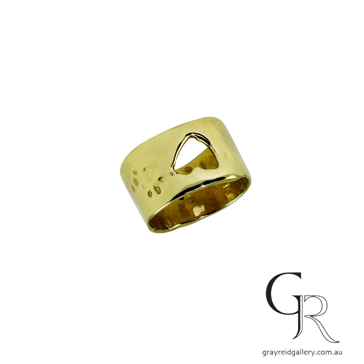 ali Alexander melbourne yellow gold wedding bands melbourne Gray Reid Gallery 12.jpg