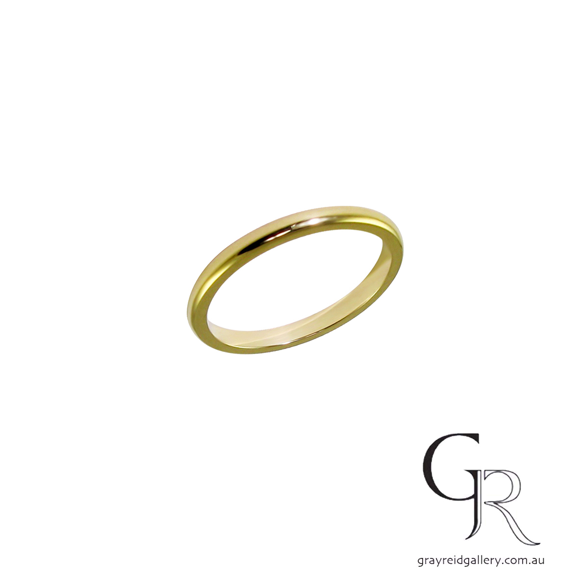 Wedding bands Melbourne mens jewellery Gray Reid Gallery yellow gold gents ring 11.40.45.jpg