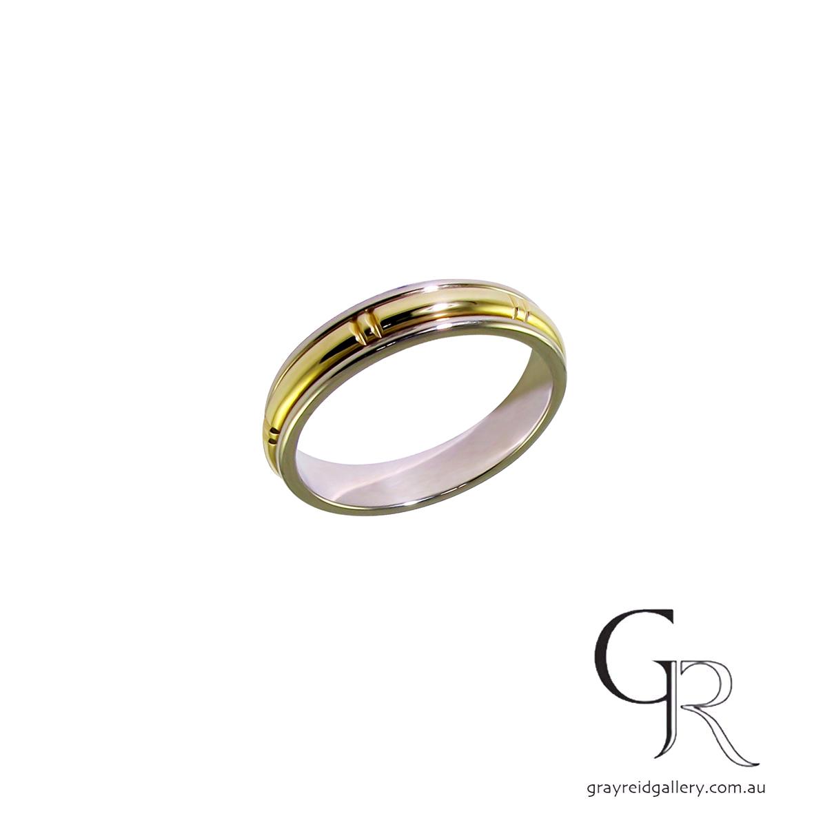 Wedding bands Melbourne mens jewellery Gray Reid Gallery yellow gold gents ring 11.46.23.jpg