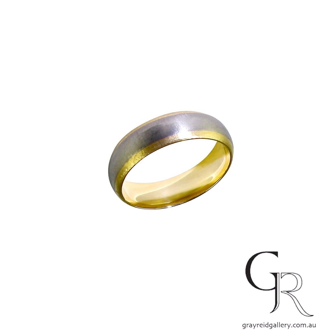 Wedding bands Melbourne mens jewellery Gray Reid Gallery yellow gold gents ring 14.02.42.jpg
