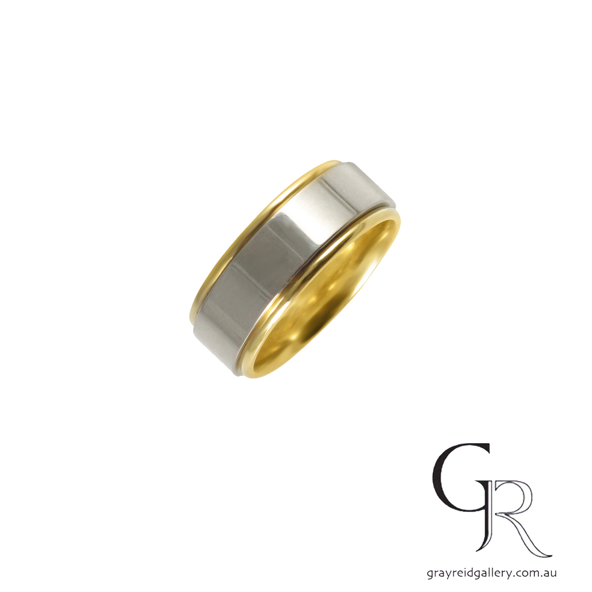 gents wedder yellow and white gold mens wedding band melbourne gray reid gallery.jpg
