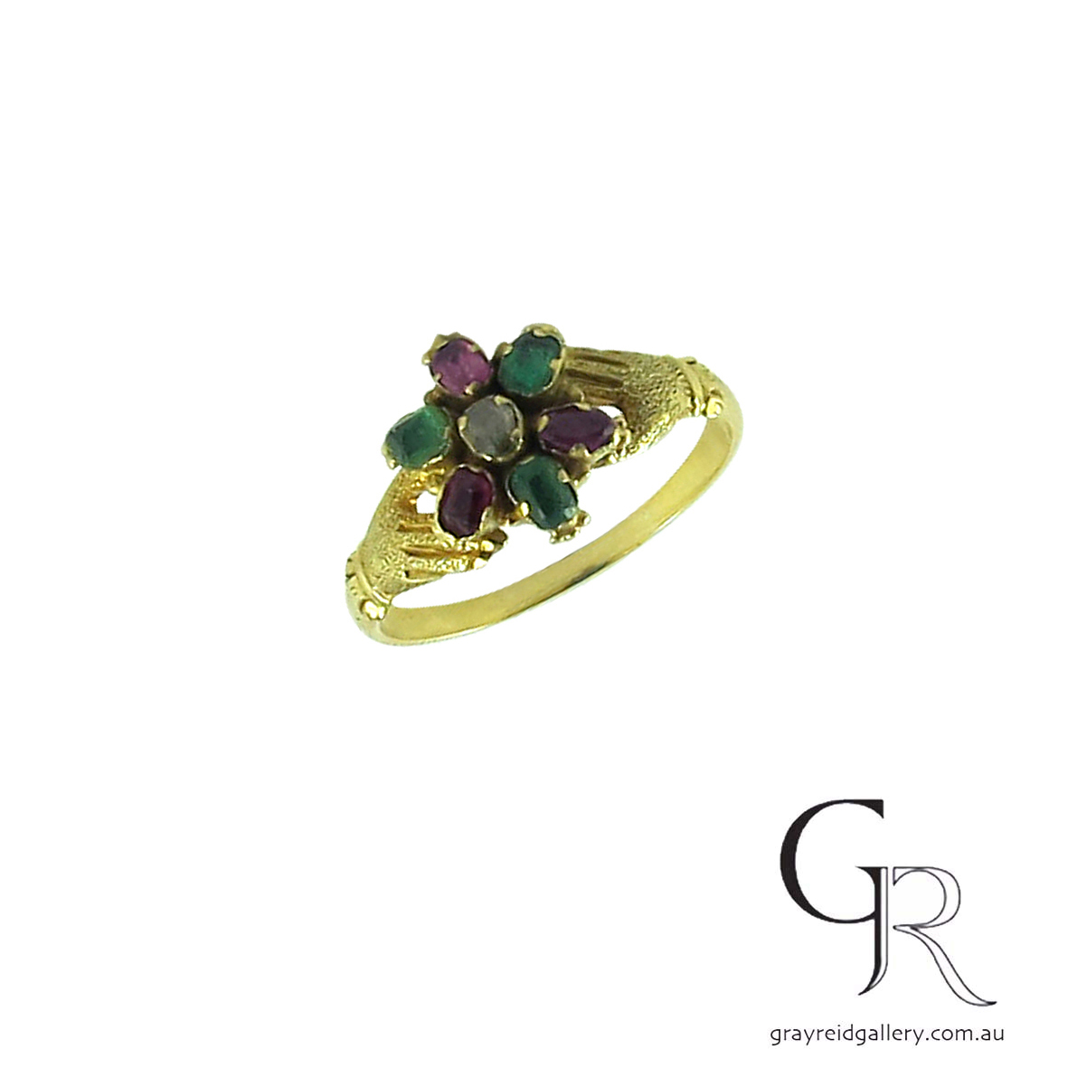 antique ruby and emerald ring melbourne gray reid gallery.jpg