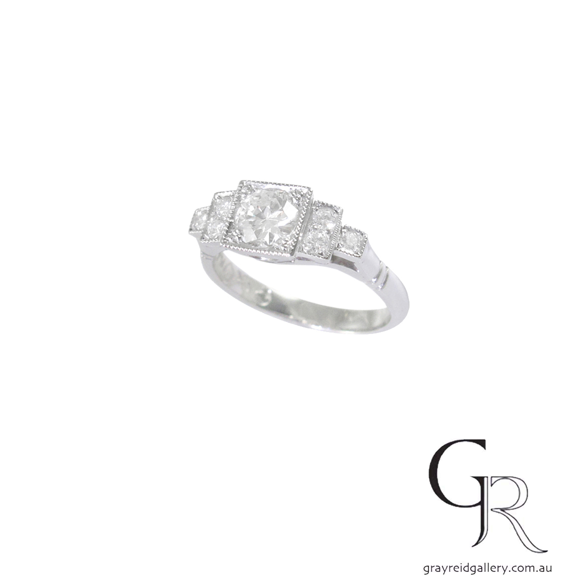 Custon made Engagement Ring Melbourne Gray Reid Gallery.jpg