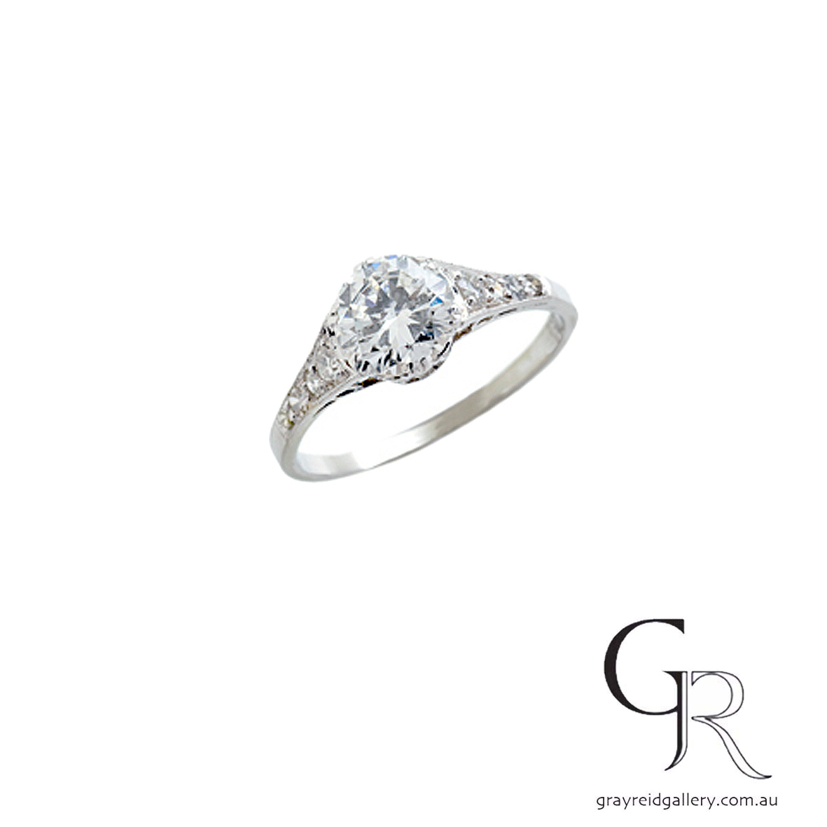 deco Engagement Ring Melbourne Gray Reid Gallery.jpg