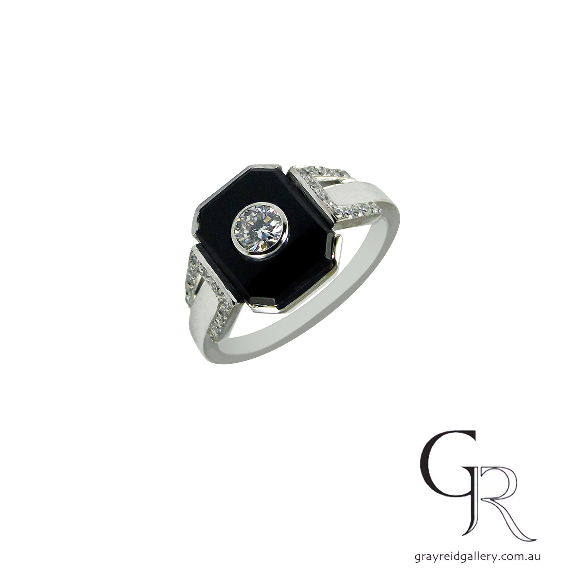 deco style engagement ring melbourne onyx and diamond gray reid gallery.jpg