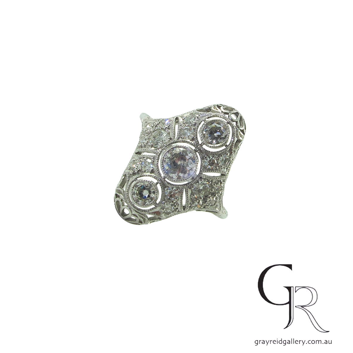 diamond plaque ring melbourne deco engagement gray reid gallery.jpg
