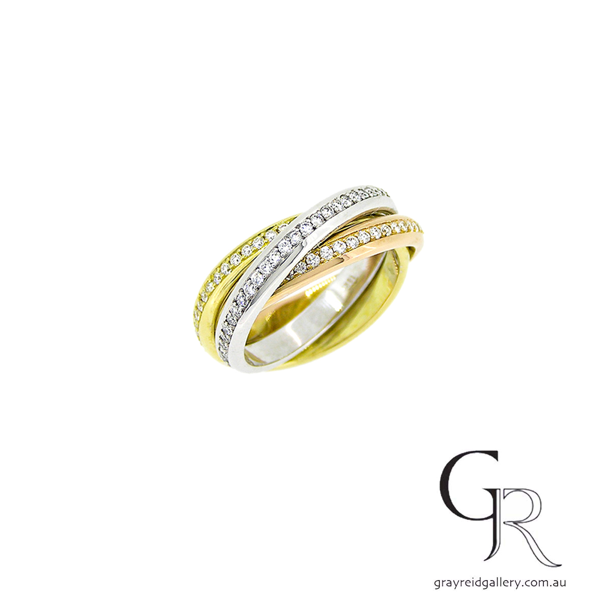Diamond Russian Wedding Rings Melbourne Gray Reid Gallery .jpg