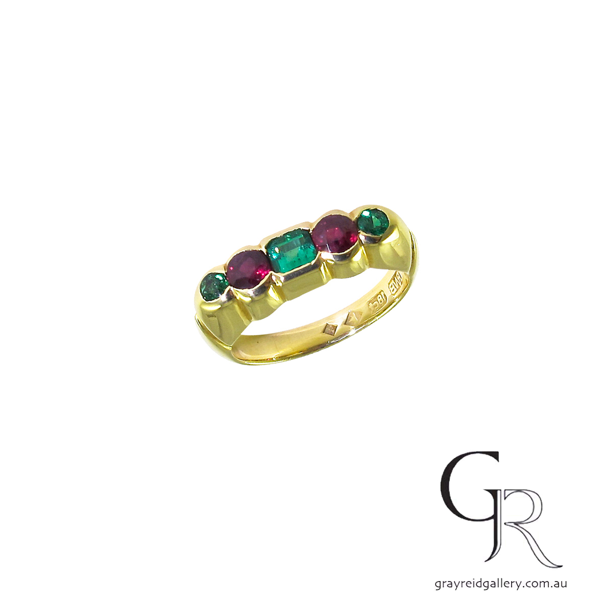 tsavorite and garnet ring paul bott melbourne gray reid gallery.jpg