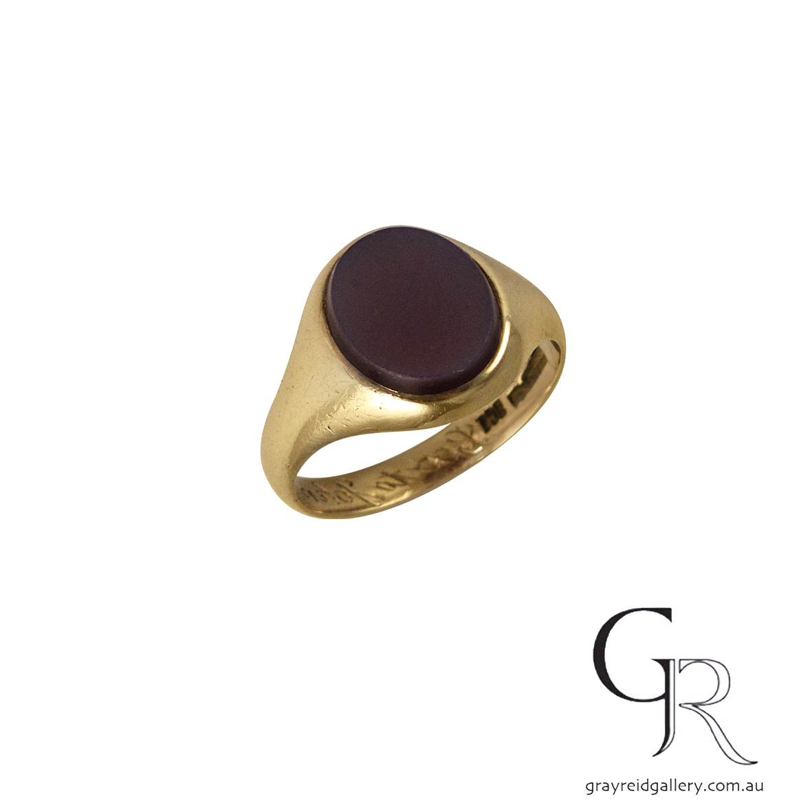 signet rings melbourne custom made gray reid gallery Carnelian.jpg