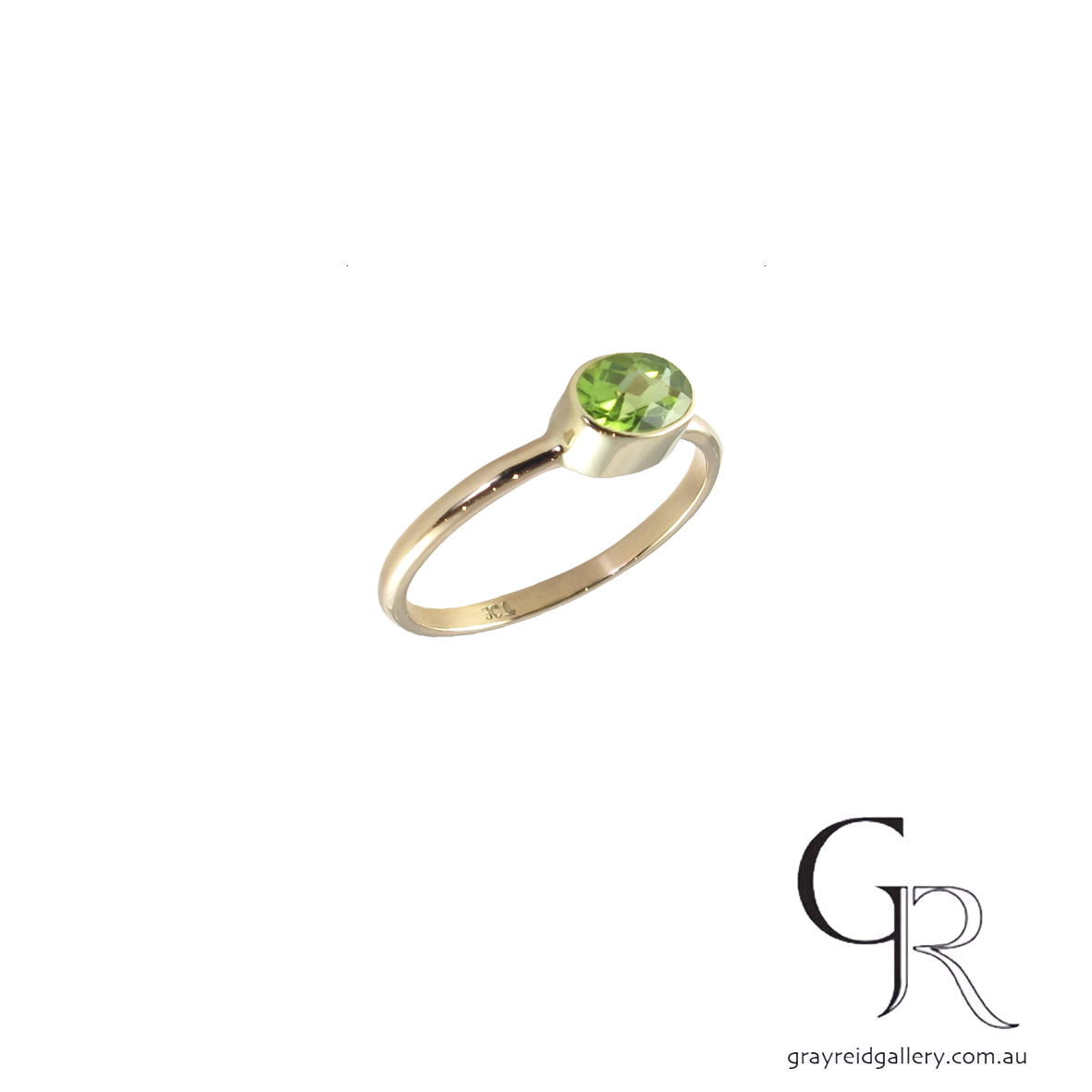 custom made 9ct gold chrysoprase ring gray reid gallery 6778 B.jpg