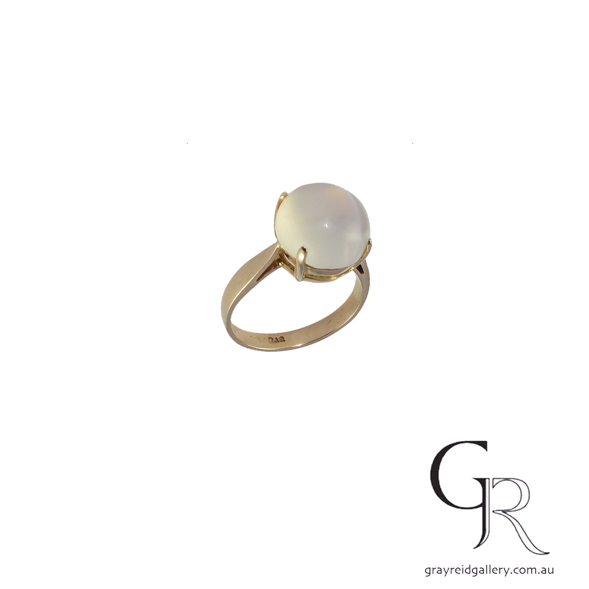 custom made 9ct gold moonstone ring gray reid gallery 6221 B $800.jpg