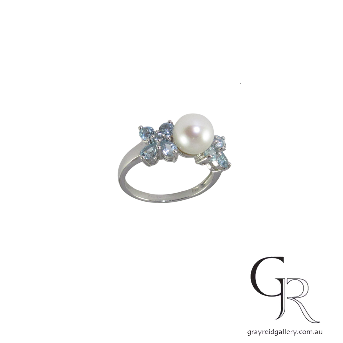 custom made topaz 9ct gold pearl ring 5551 B $620.jpg