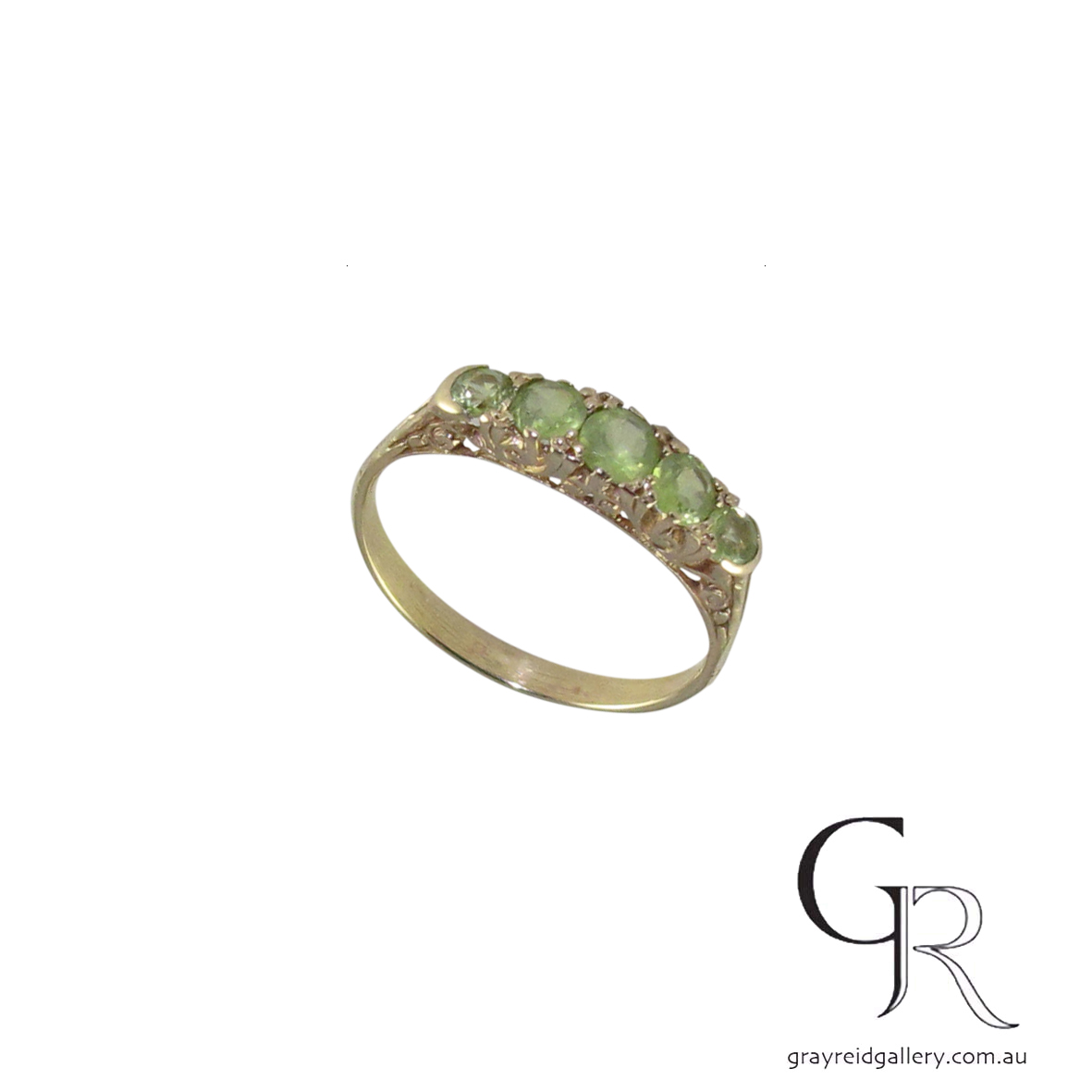 9ct gold peridot ring HOF05 A $800.jpg