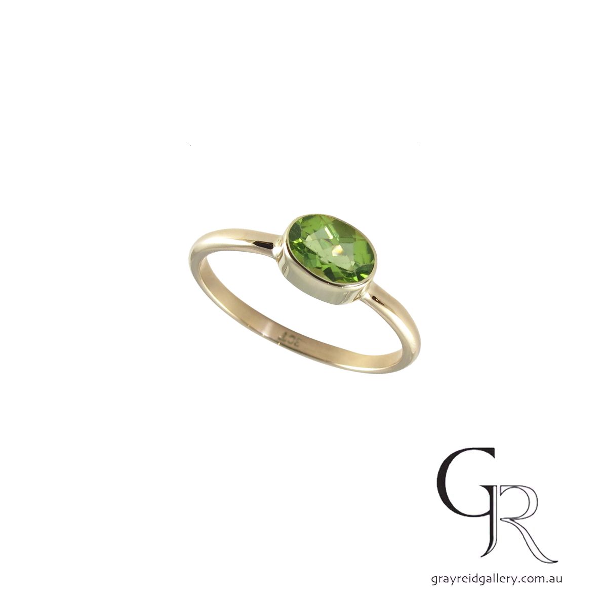 custom made 9ct gold chrysoprase ring gray reid gallery 6778 A.jpg