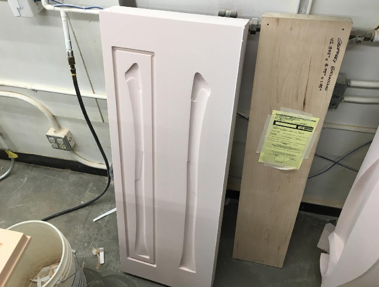 CNC'd Foam Tooling
