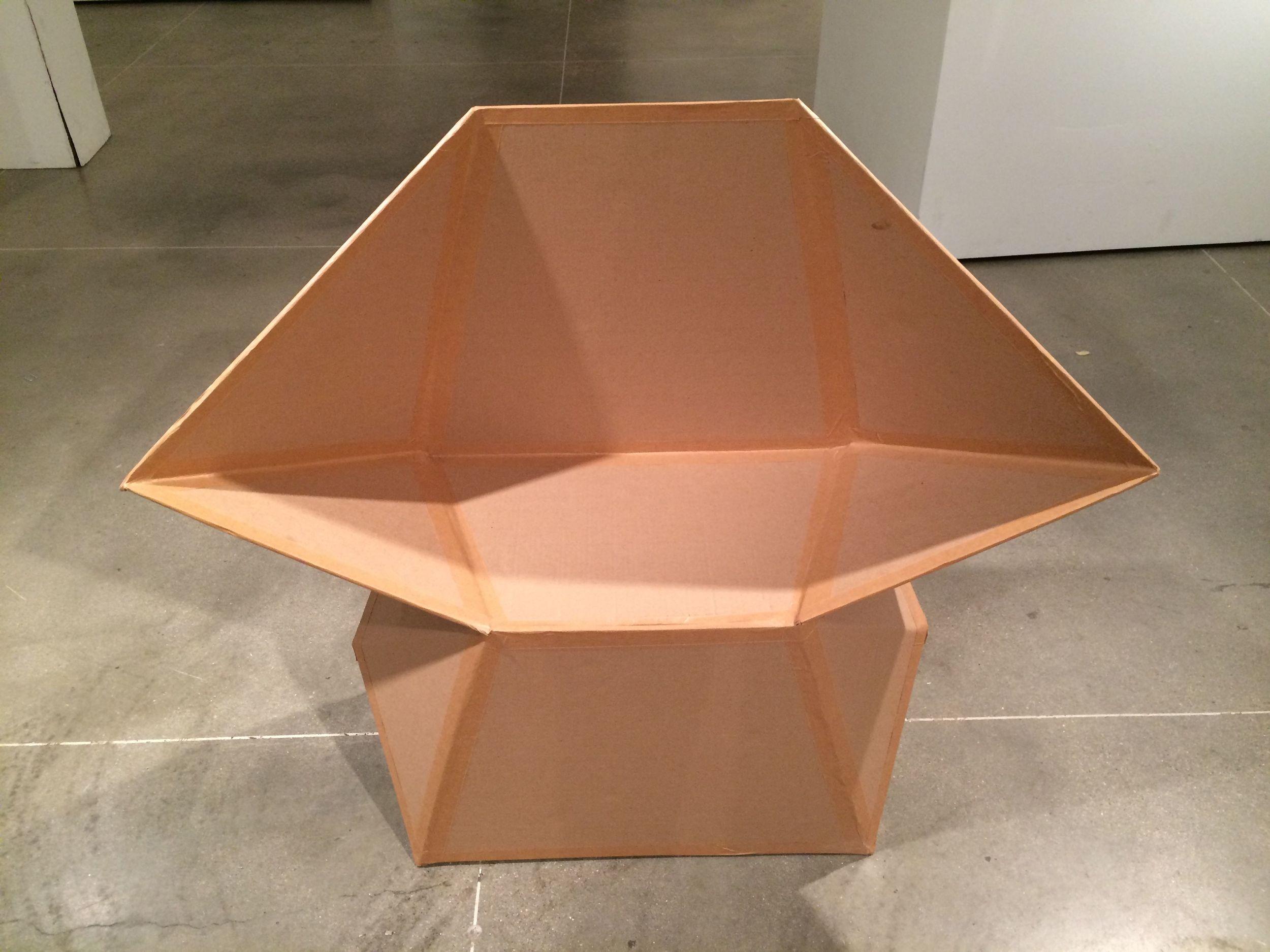 Cardboard Chair Assignment