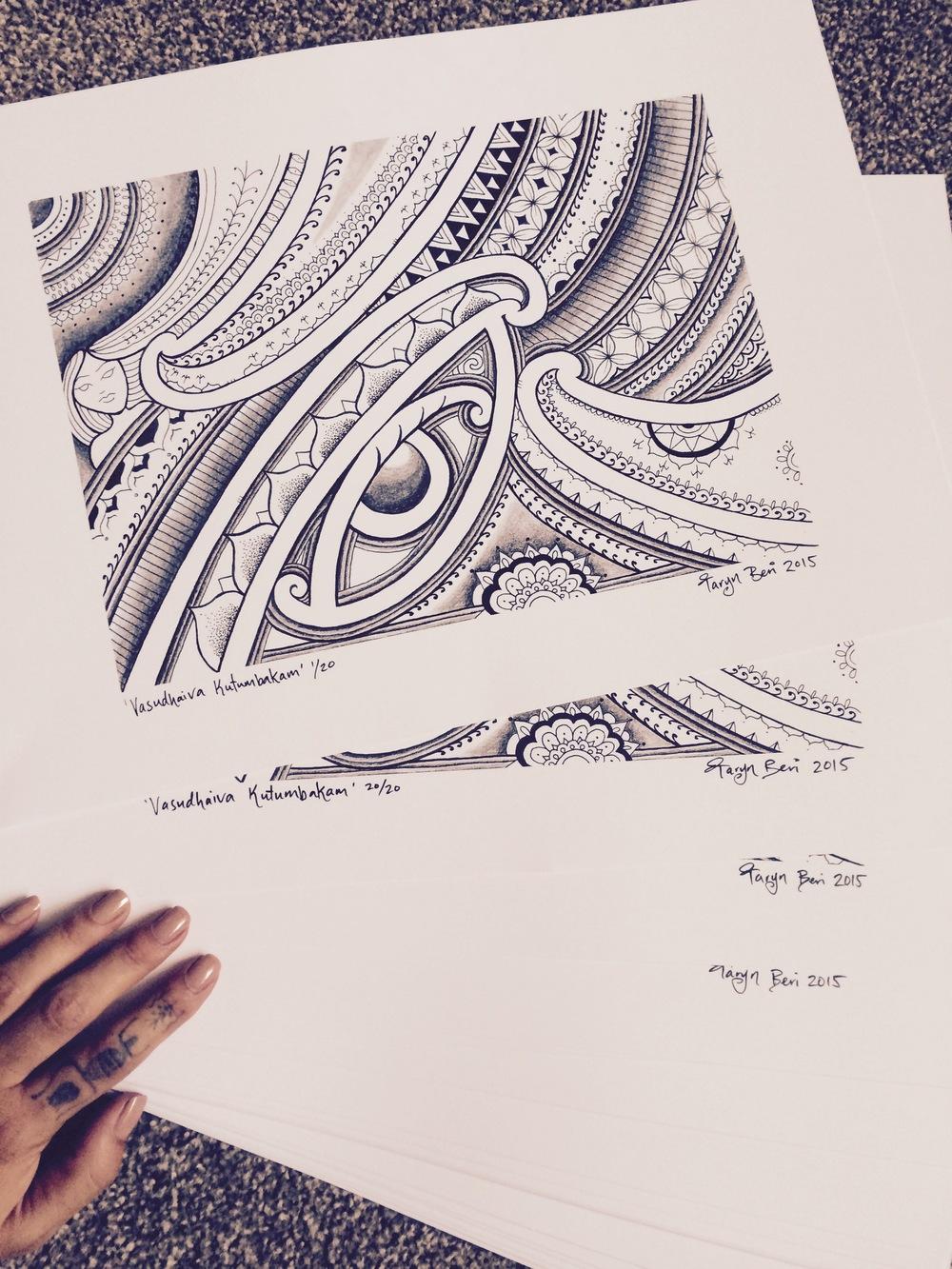 taryn beri maori tattoo ta moko wellington