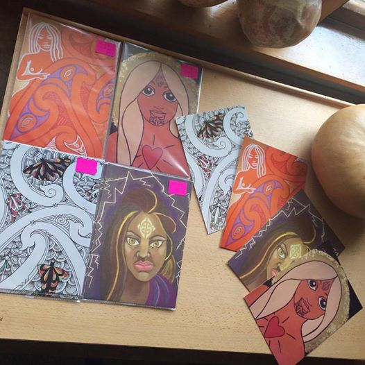 New sets of small art prints I launched during phase two.