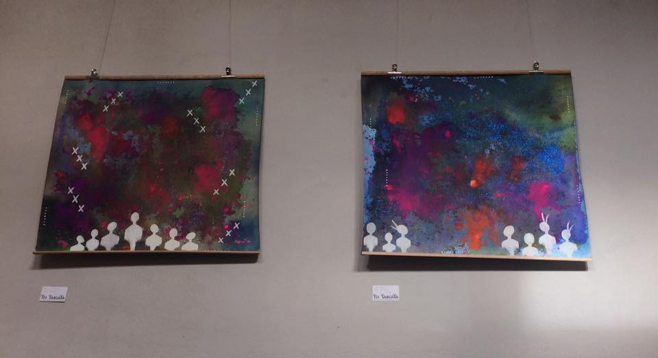 'Celestial Connections' SOLD and 'Star Seeds' on the right.