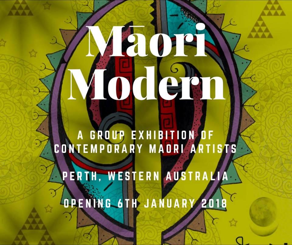 maori modern art exhibition perth