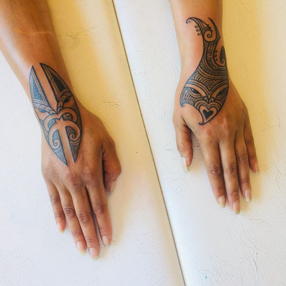 ta moko maori tattoo london august 2019