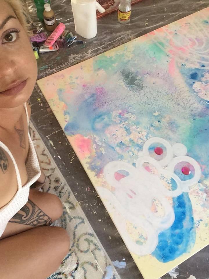 maori art artists otaki kapiti coast moko tattoo wahine