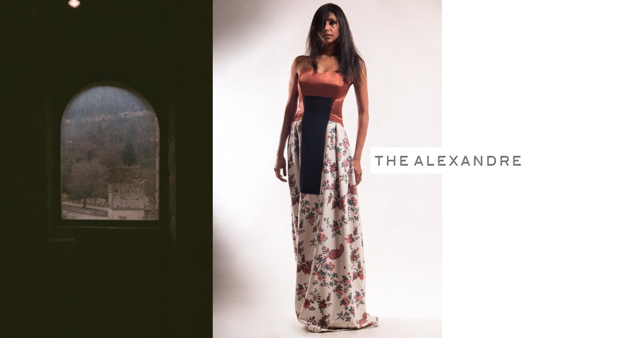 """Alexandre Dorriz,  Fall/Winter 2014 , 2014. Archival Inkjet Print, 41"""" x 22"""".   www.thealexandre.com"""