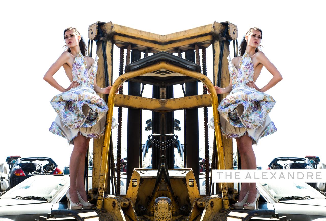 """Alexandre Dorriz,  Spring/Summer 2014 , 2013. Archival Inkjet Print, 44"""" x 30"""".   www.thealexandre.com"""
