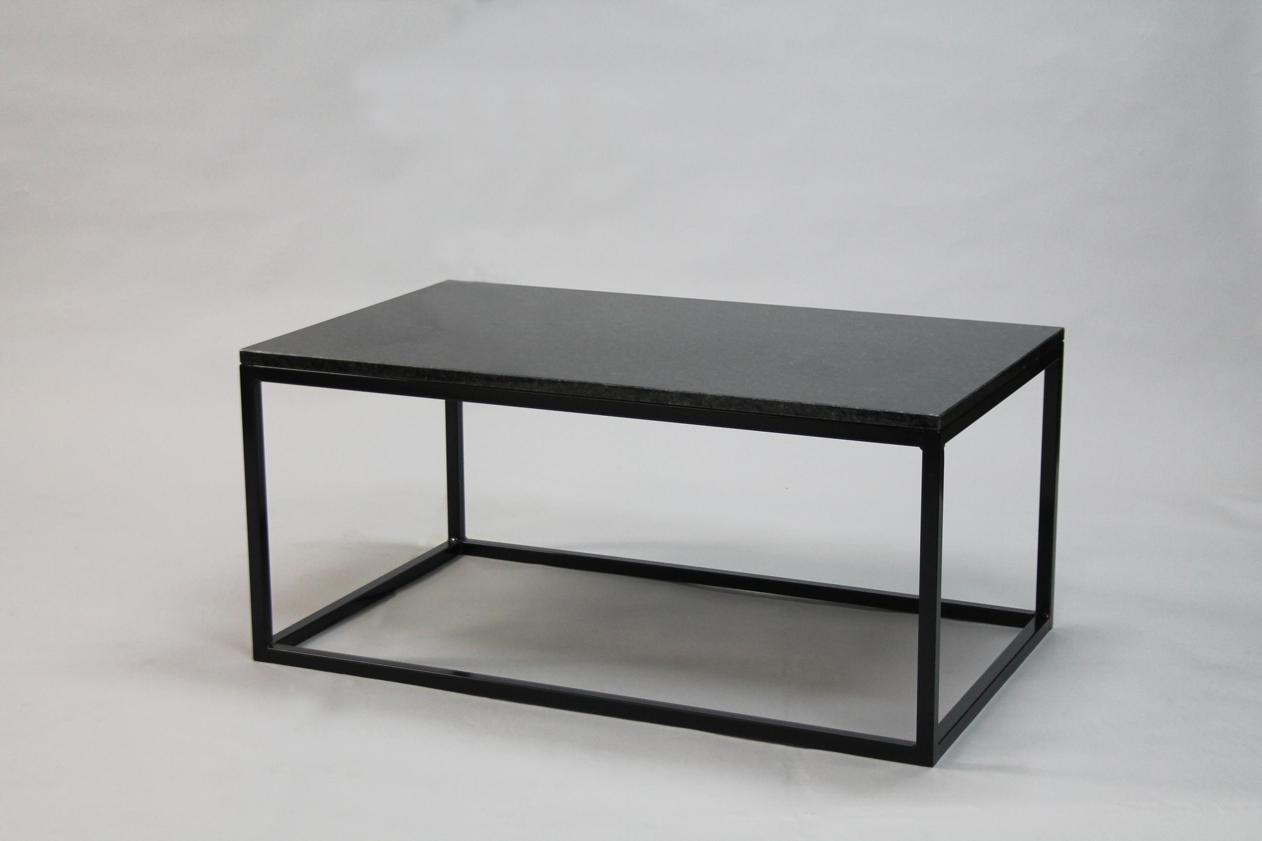 Granitbord - 100x60 x  45  cm, svart underredekub   SLUT!