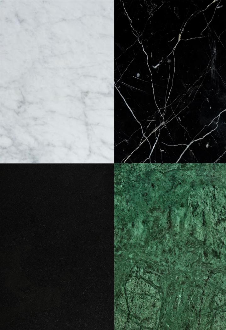 Våra material och färger