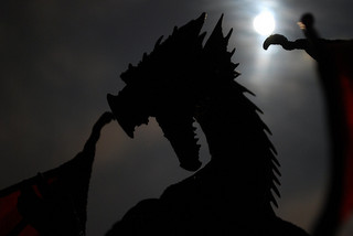 Dragons are associated with the root chakra and kundalini. Photo: Some rights reserved by Aztlek