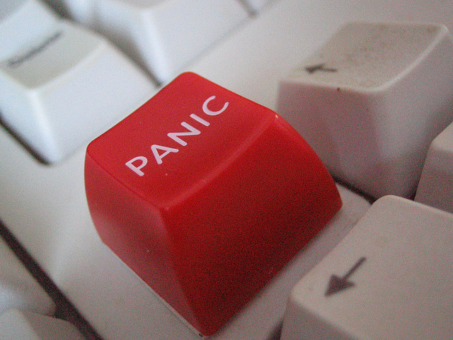 Panic can be a sign of imbalanced Heart Chakra energy.