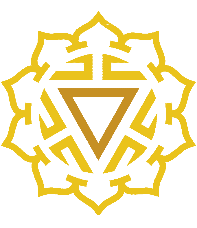 Symbol for the Solar Plexus Chakra