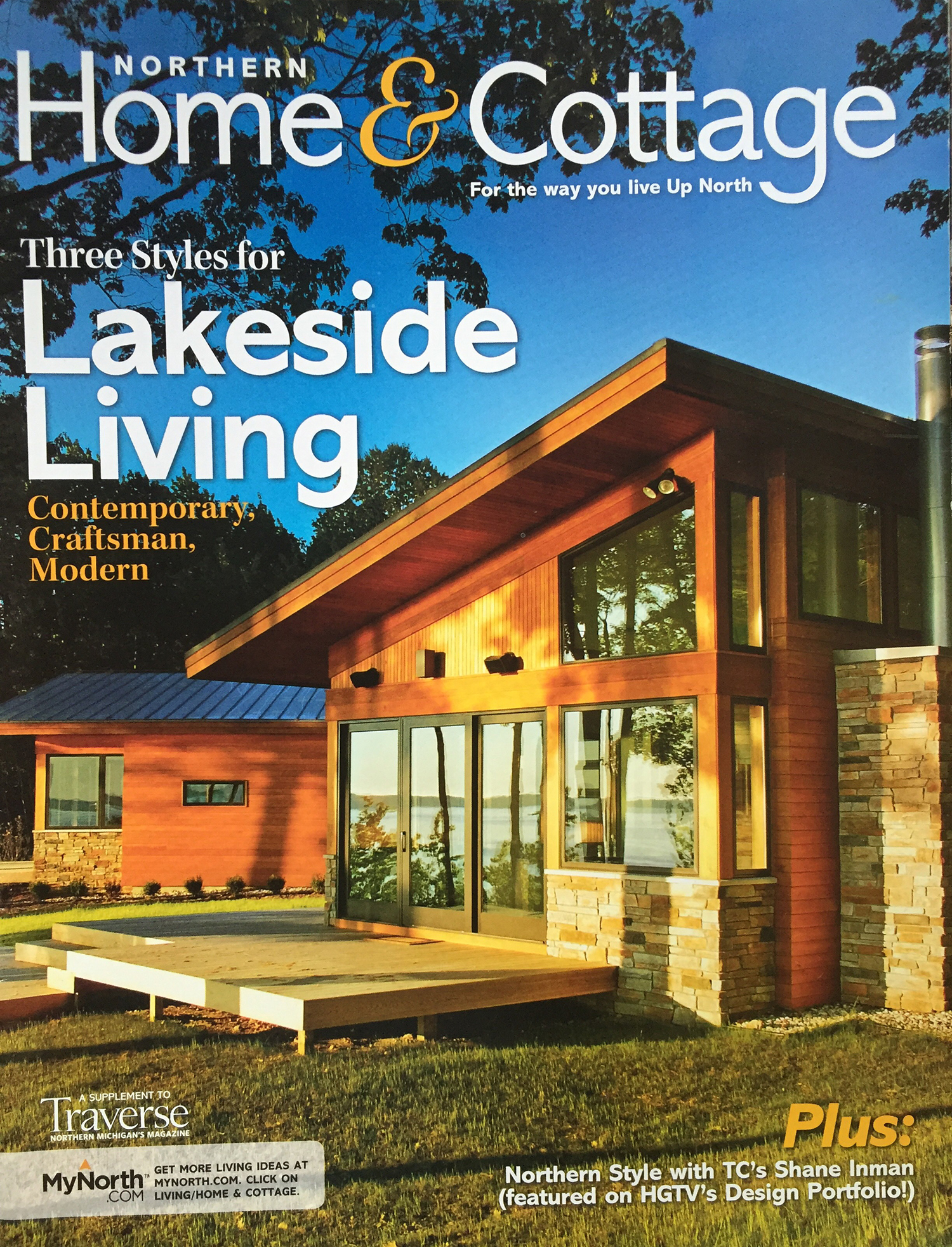 CARLYON RESIDENCE featured in Traverse, The Magazine Home Edition